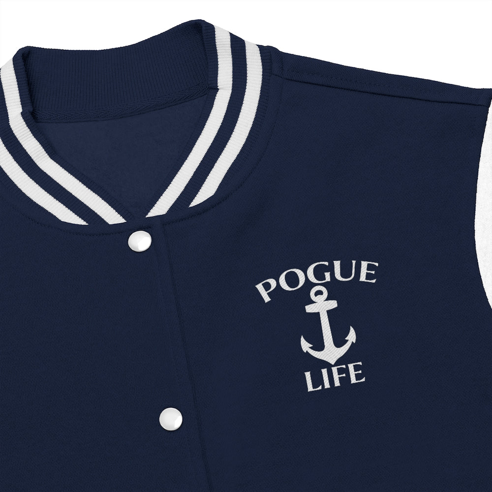 Pogue Life Women's Varsity Jacket - FandomFix.com