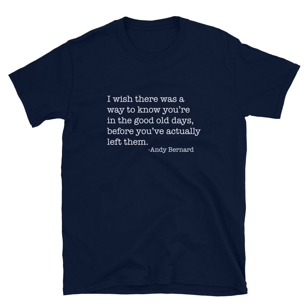The Office Good Ol' Days T-Shirt - FandomFix.com