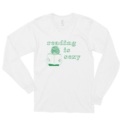 Reading is Sexy Long sleeve t-shirt - FandomFix.com