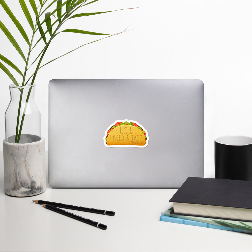 Taco Bubble-free stickers - FandomFix.com