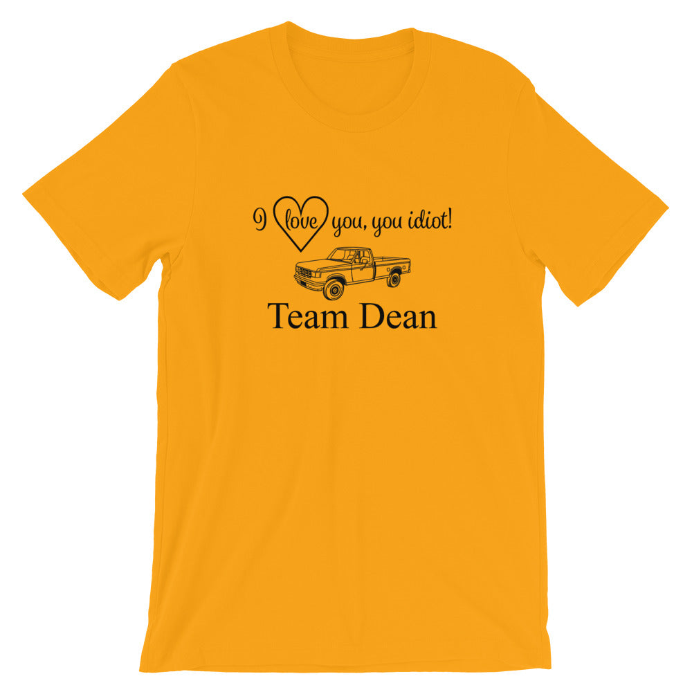 Team Dean! T-Shirt - FandomFix.com