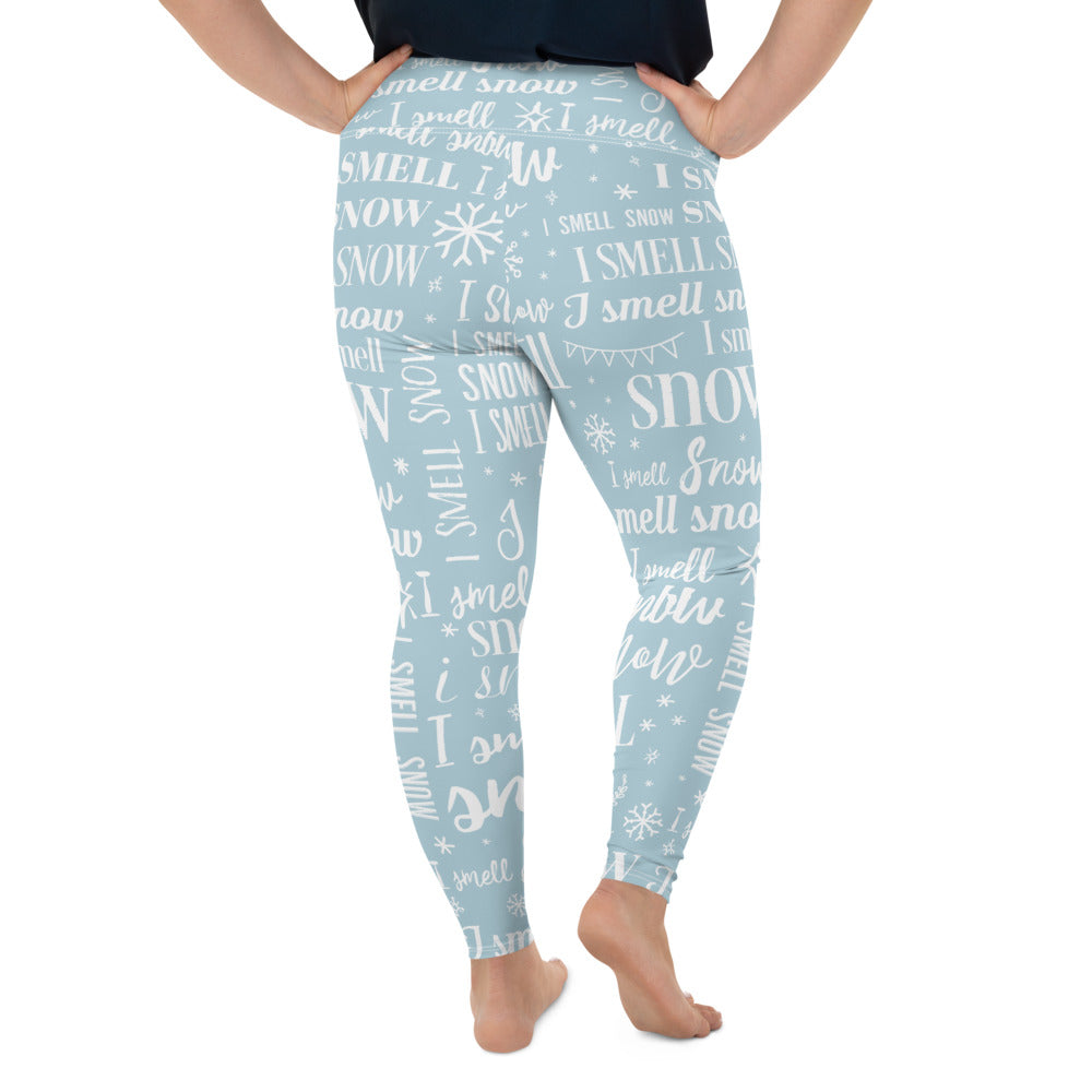 Smell Snow Plus Size Leggings - FandomFix.com
