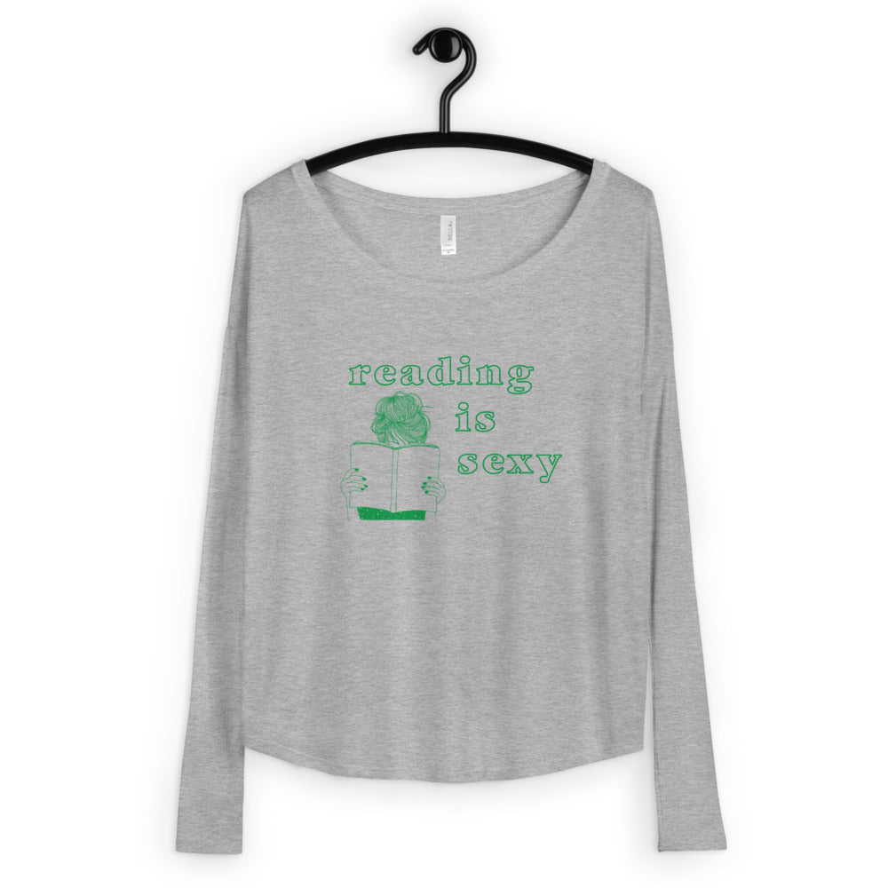 Reading is Sexy Ladies' Long Sleeve Tee - FandomFix.com