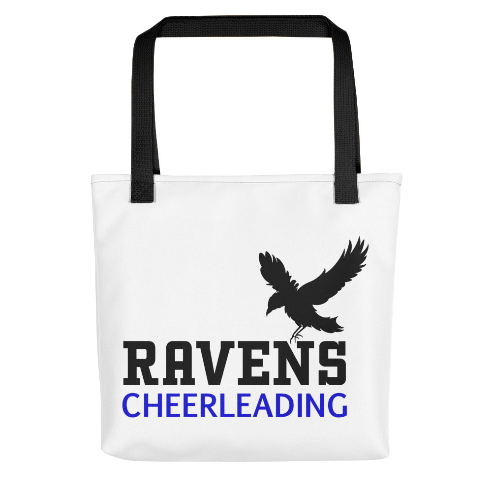 Raven's Cheerleading Tote bag