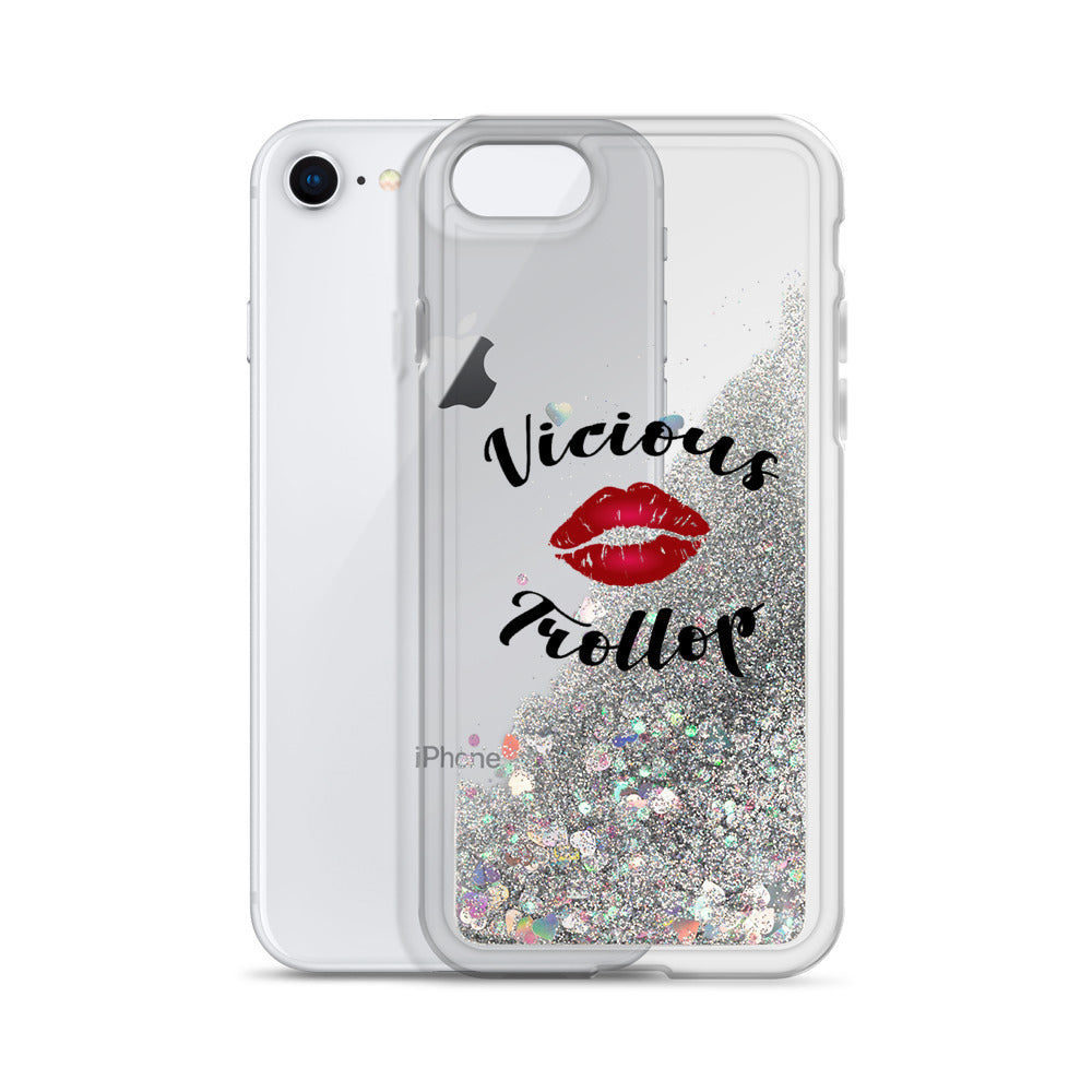 Vicious Trollop Liquid Glitter Phone Case - FandomFix.com