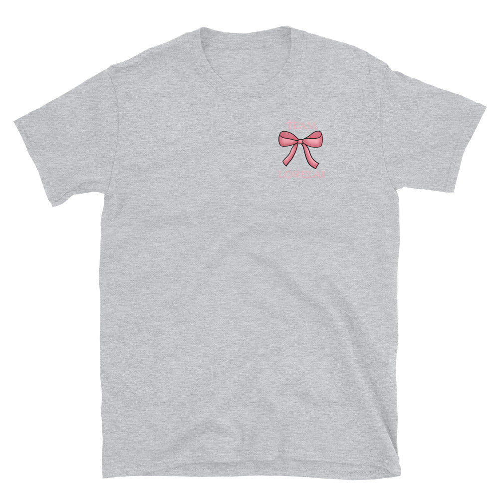 Team Lorelai Bow Unisex T-Shirt - FandomFix.com
