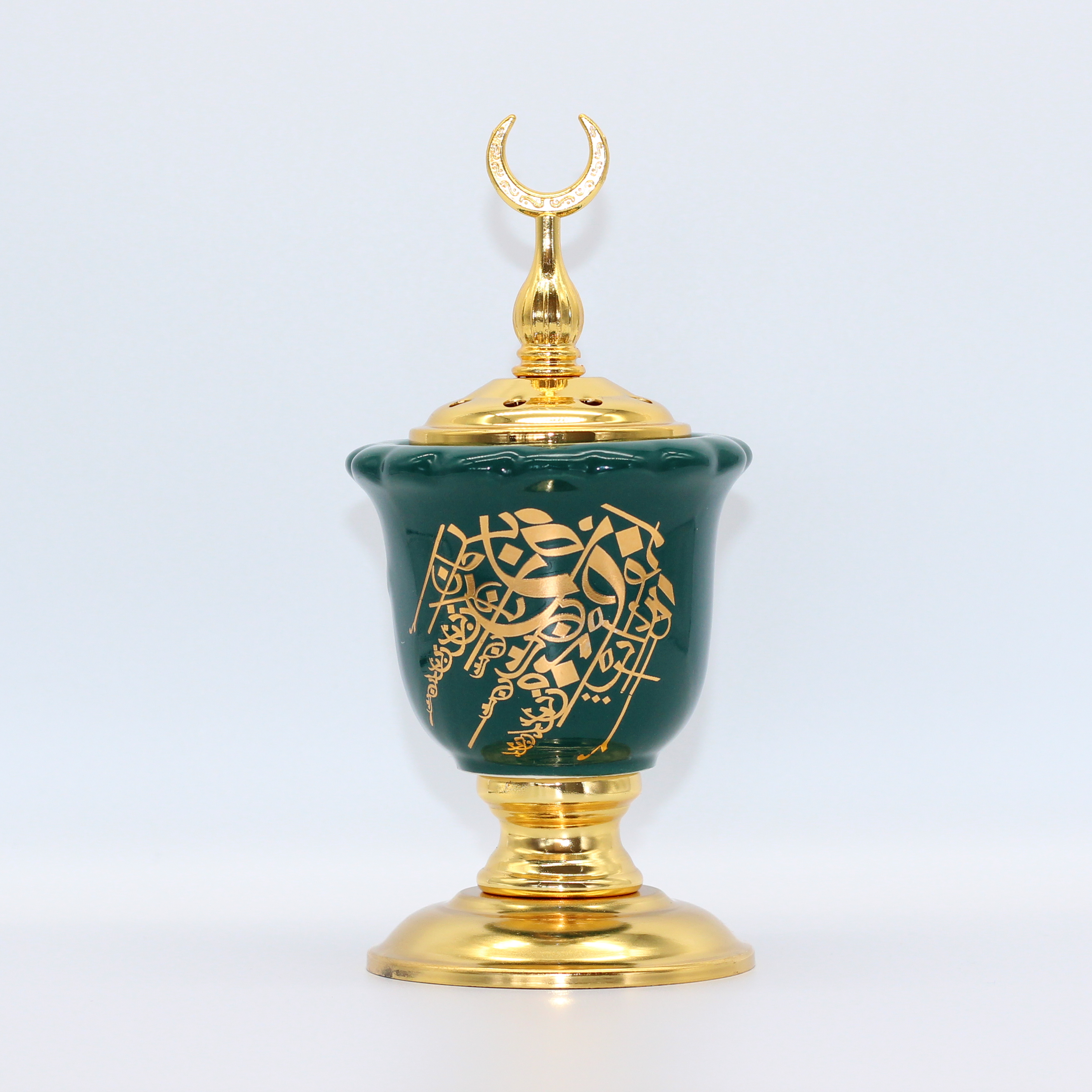Calligraphy Green Burner