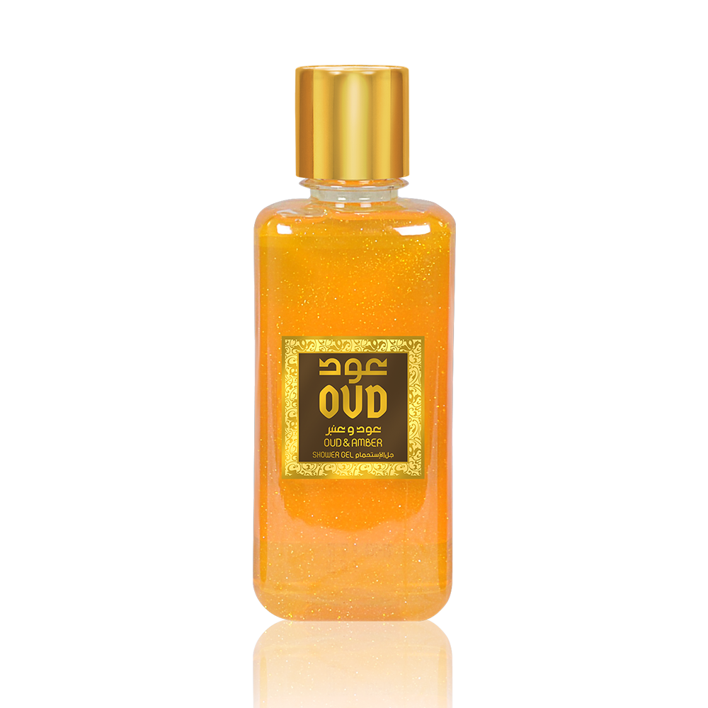 Oud & Amber Shower Gel
