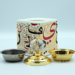 Load image into Gallery viewer, Arabic Style Cube Charcoal Burner Set