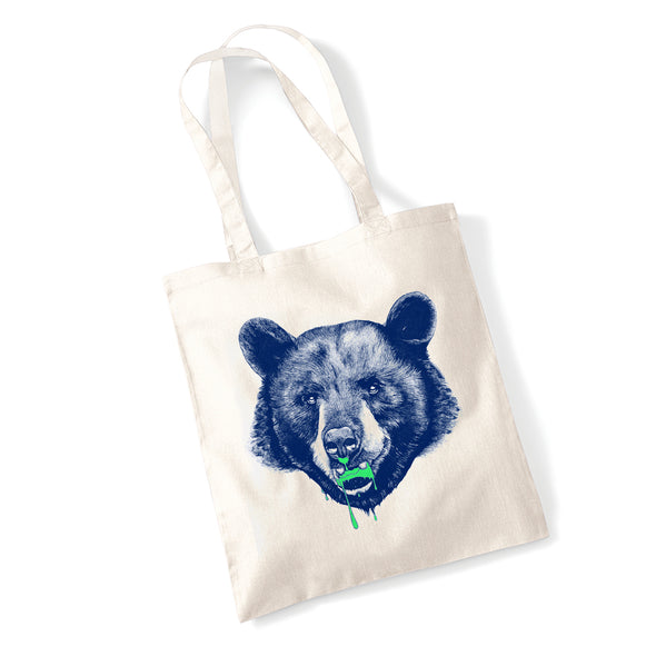 Grizzly Tote<br><h5> by Tom Baxter</h5>