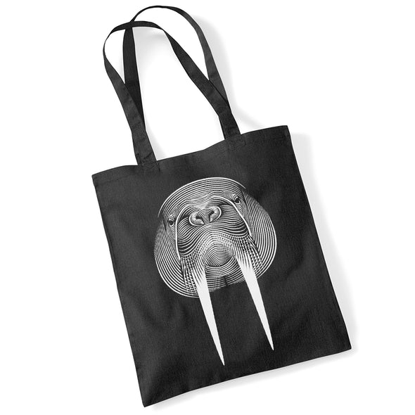 Walrus Tote<br><h5> by Patrick Seymour</h5>