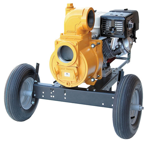 "4"" ENGINE DRIVEN TRASH PUMPS"