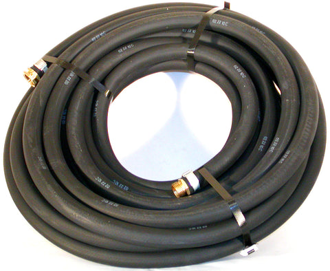 Black Contractor Water Hose by Continental Hose Company