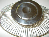 Silver-plate Italian Design Table Serving Basket