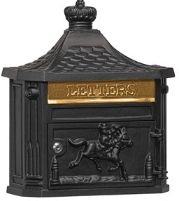 Victorian Wall Mounted Residential Mailboxes