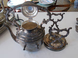 "Silverplate Tea, Coffee and More ""Spring Flower"" by International Silver Company (8 parts)"