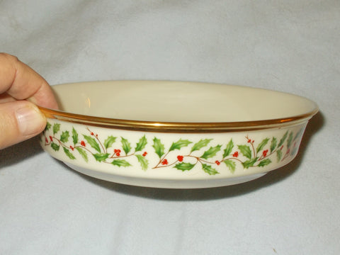 Coupe Soup Bowl Holiday Dimension Collection by Lenox (6 bowls) Made in the USA!