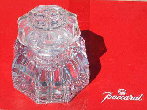 Baccarat (France) Crystal Ink Wells with stopper (2 available)