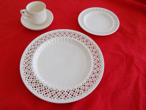 Royal Creamware English Fine China Place Settings (12 sets)