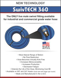 SWIVTECH 360 Industrial/Commercial Grade Water Hose