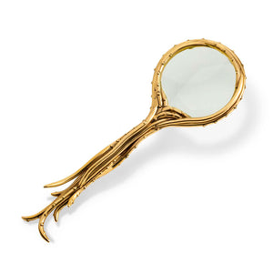 L'Objet Haas Gold Optipus Magnifying Glass