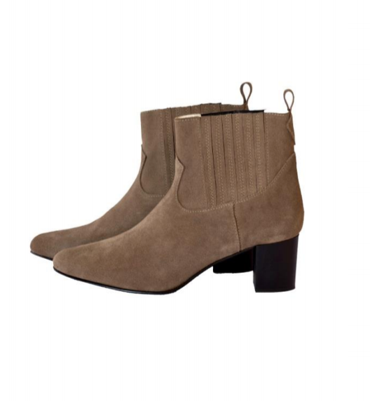 Stockholm Ankle Boot in Tan Leather