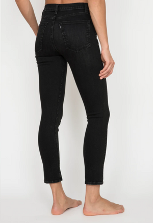 High Rise Skinny in Rock