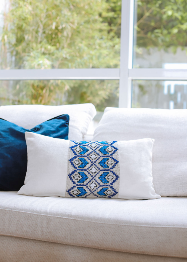 Aegean Mist Cushion