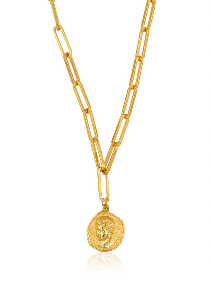 Hermis Zena Necklace Gold