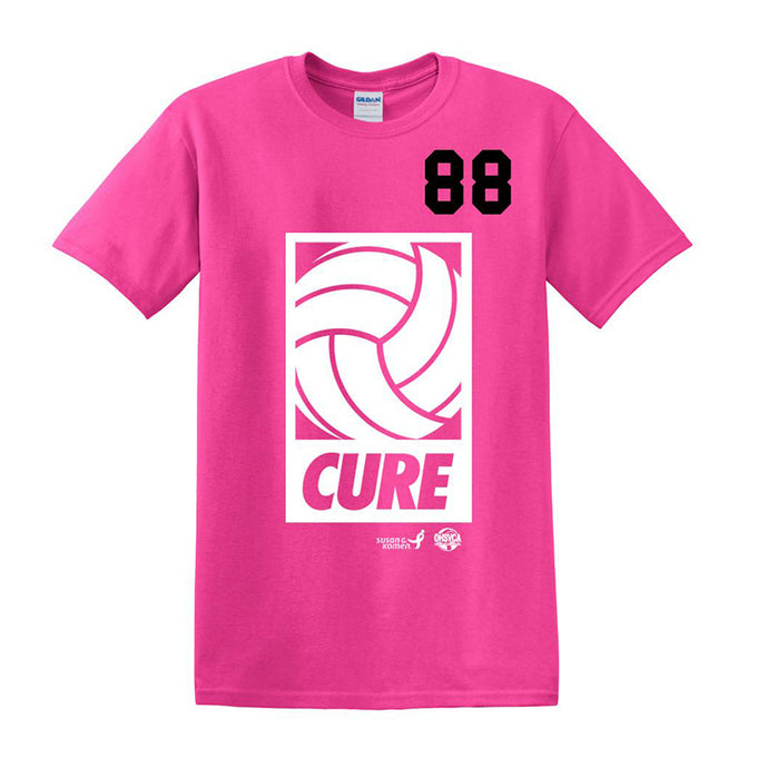 Pink Players Tee