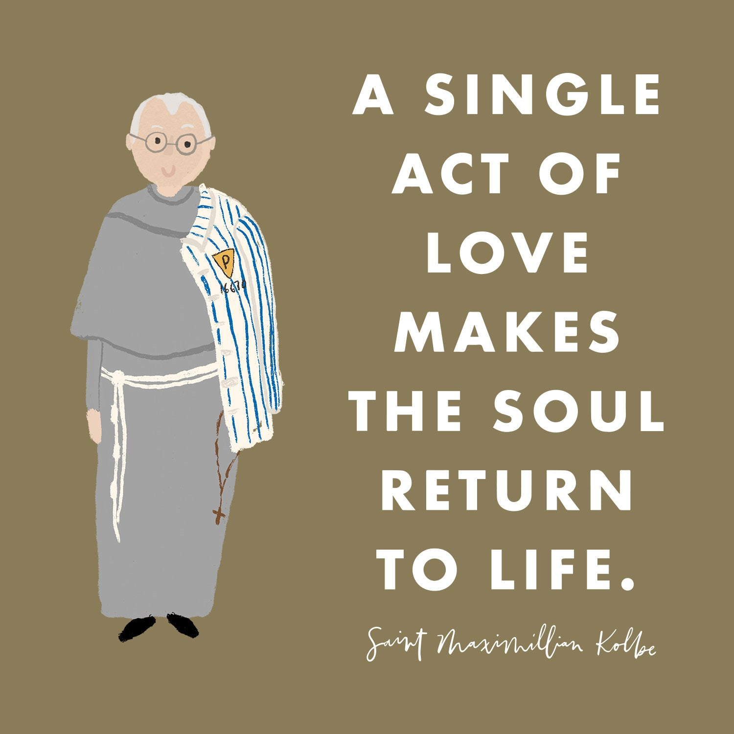Happy Feast day of Saint Maximilian Kolbe!
