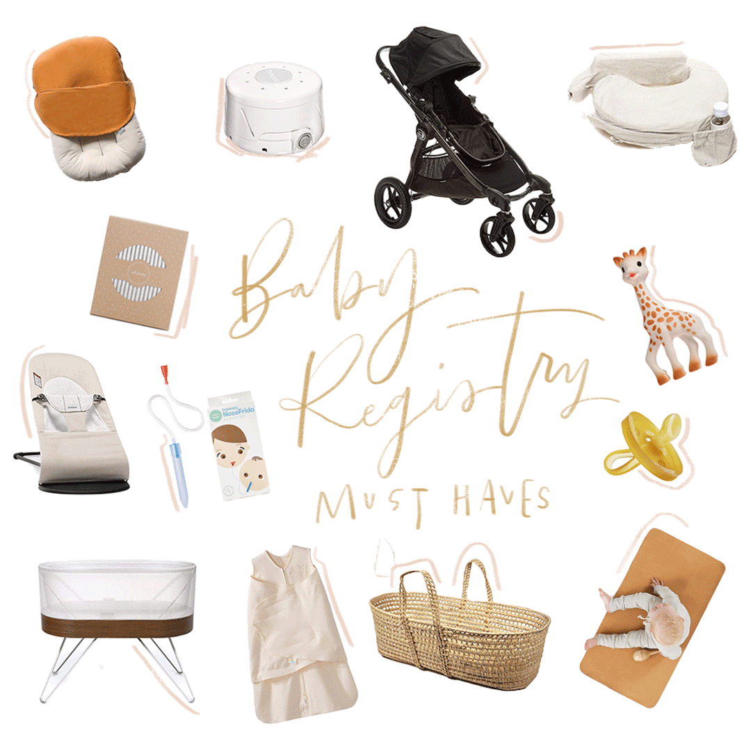 First time mom? Must add baby registry items!