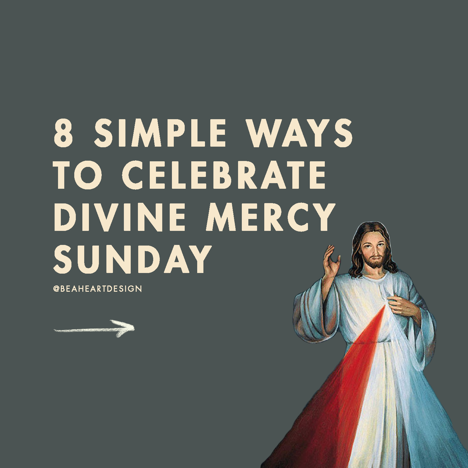 simple ways to celebrate divine mercy sunday