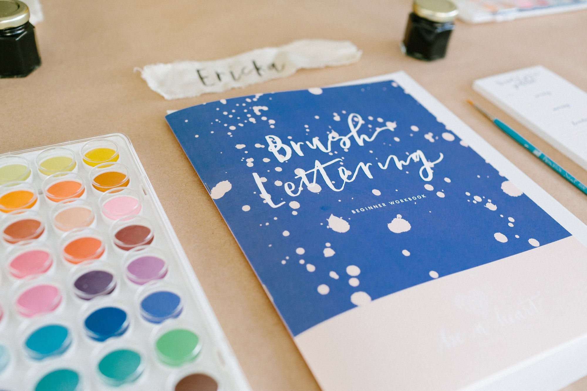 Beginner Brush Lettering Class at Makers Mess
