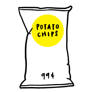 Dating and Potato Chips.