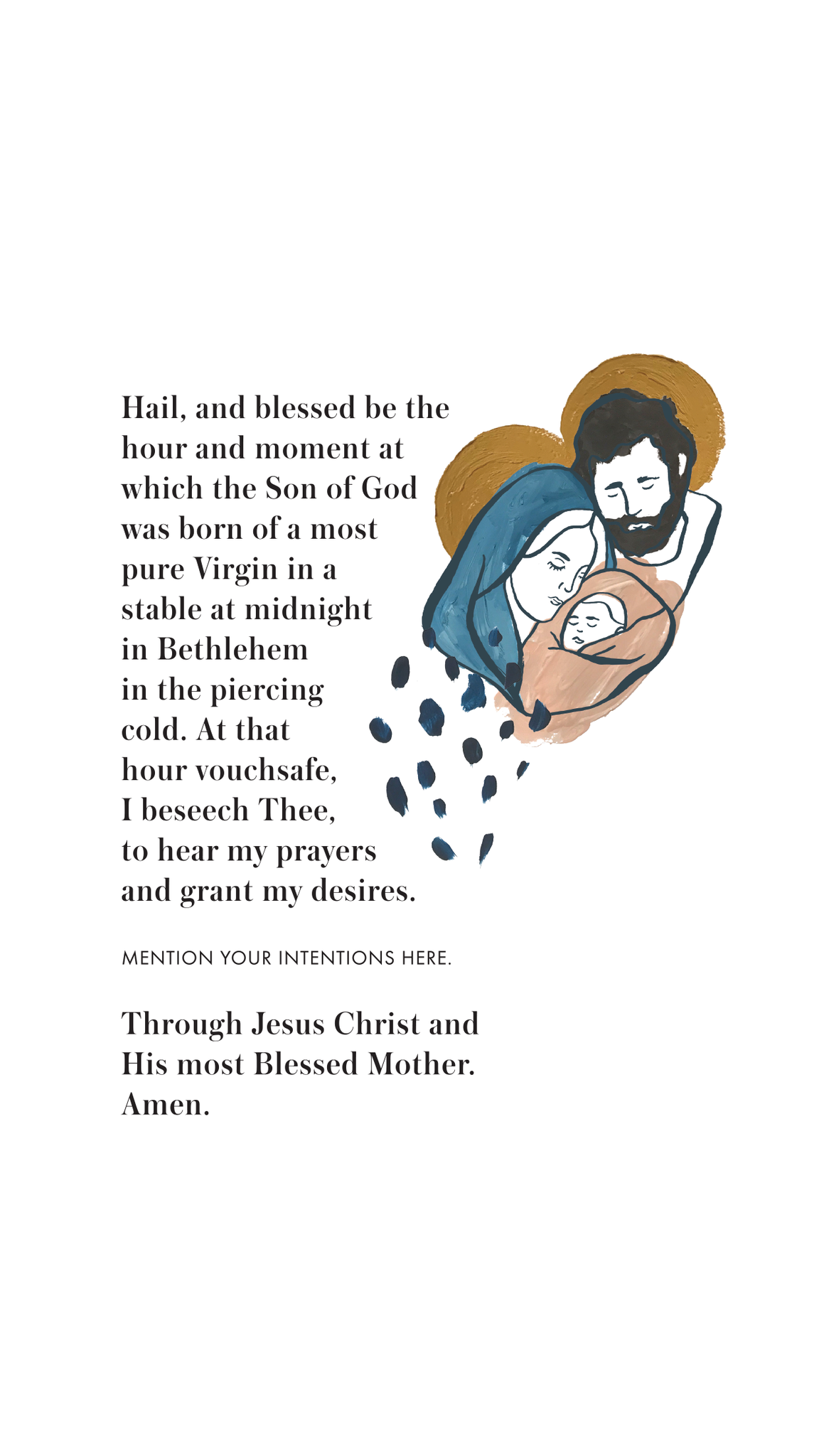 be a heart saint andrew's christmas novena