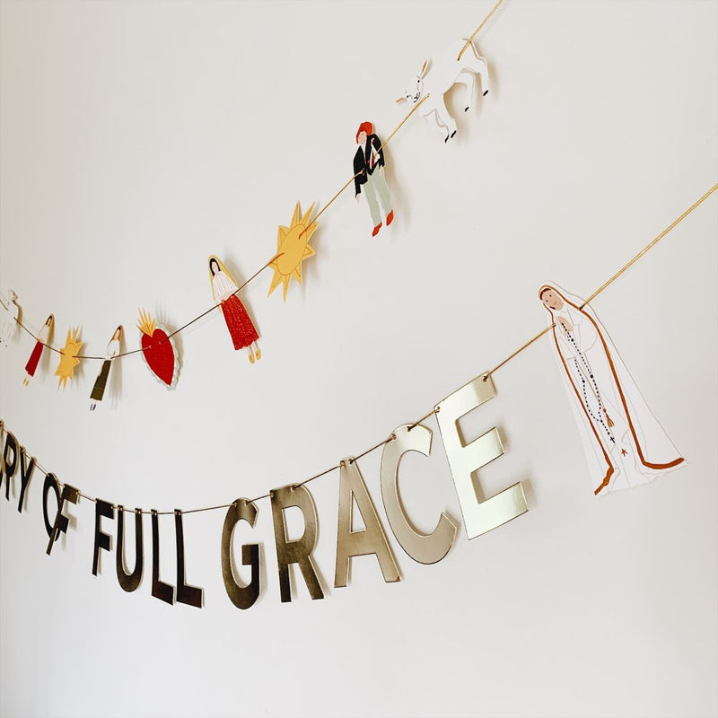 Fatima Inspirational DIY Party Decor Garland