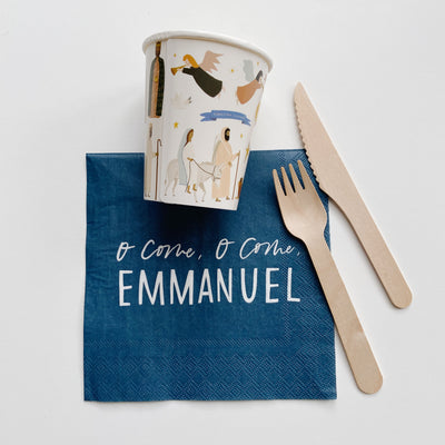 Emmanuel Christmas 8oz Cups