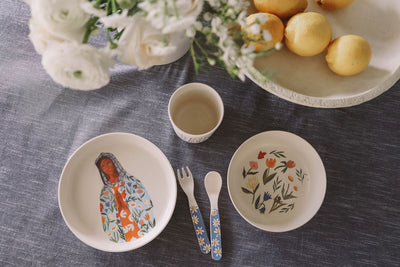 Our Lady of Perpetual Flourishing Children's Tableware Set