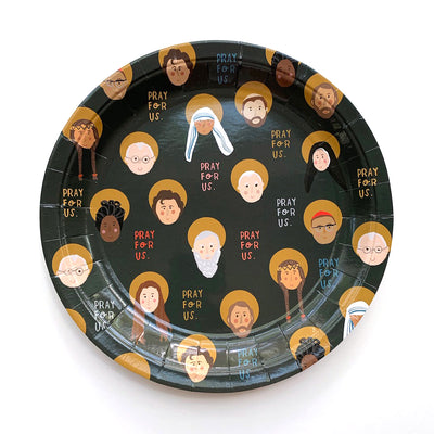 All Saints 9in Plates