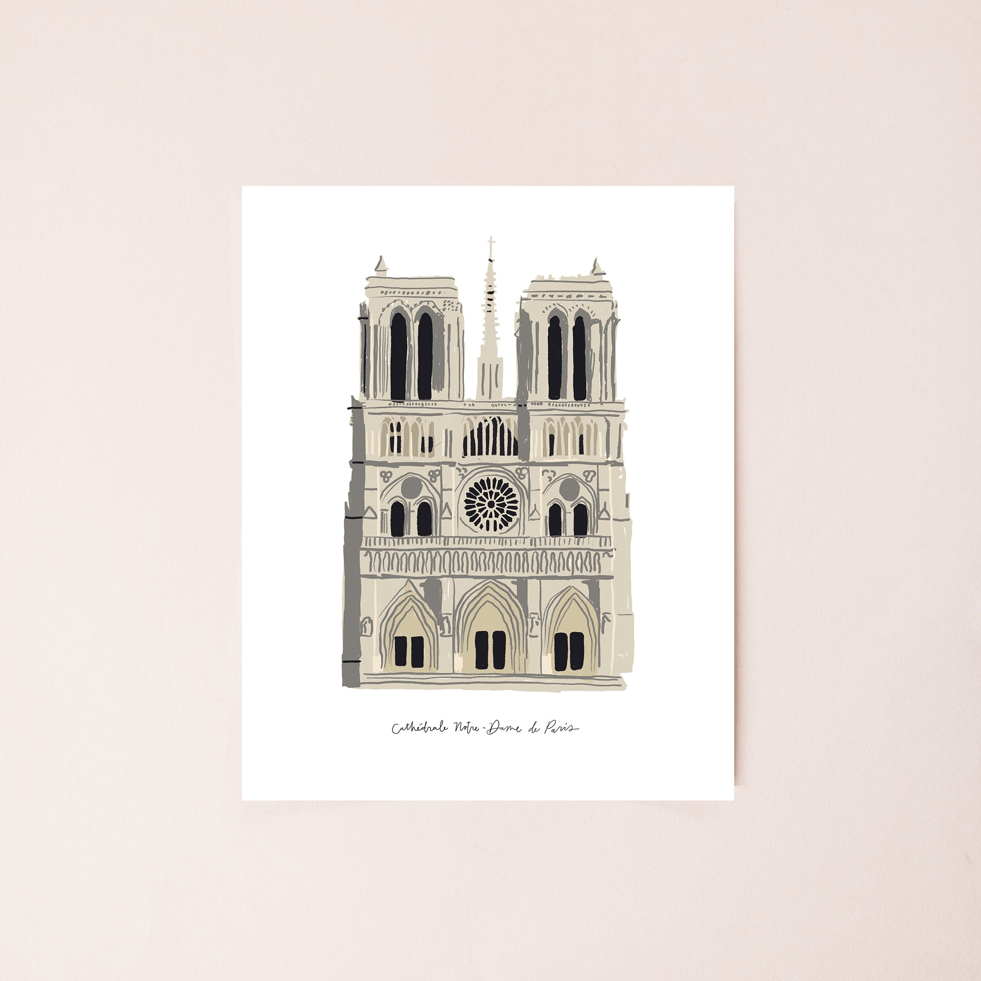 Cathedral of Notre Dame 8x10 Digital Download