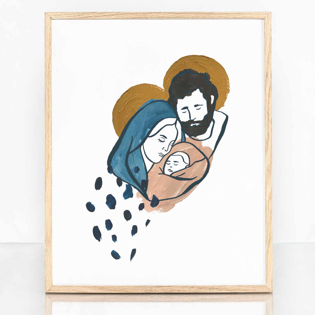 The Holy Family 8x10 Digital Download