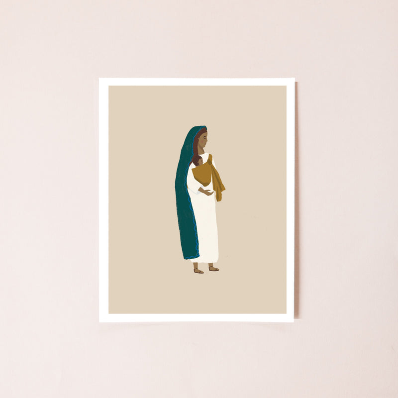 Mary, Mother of God 8x10 Print