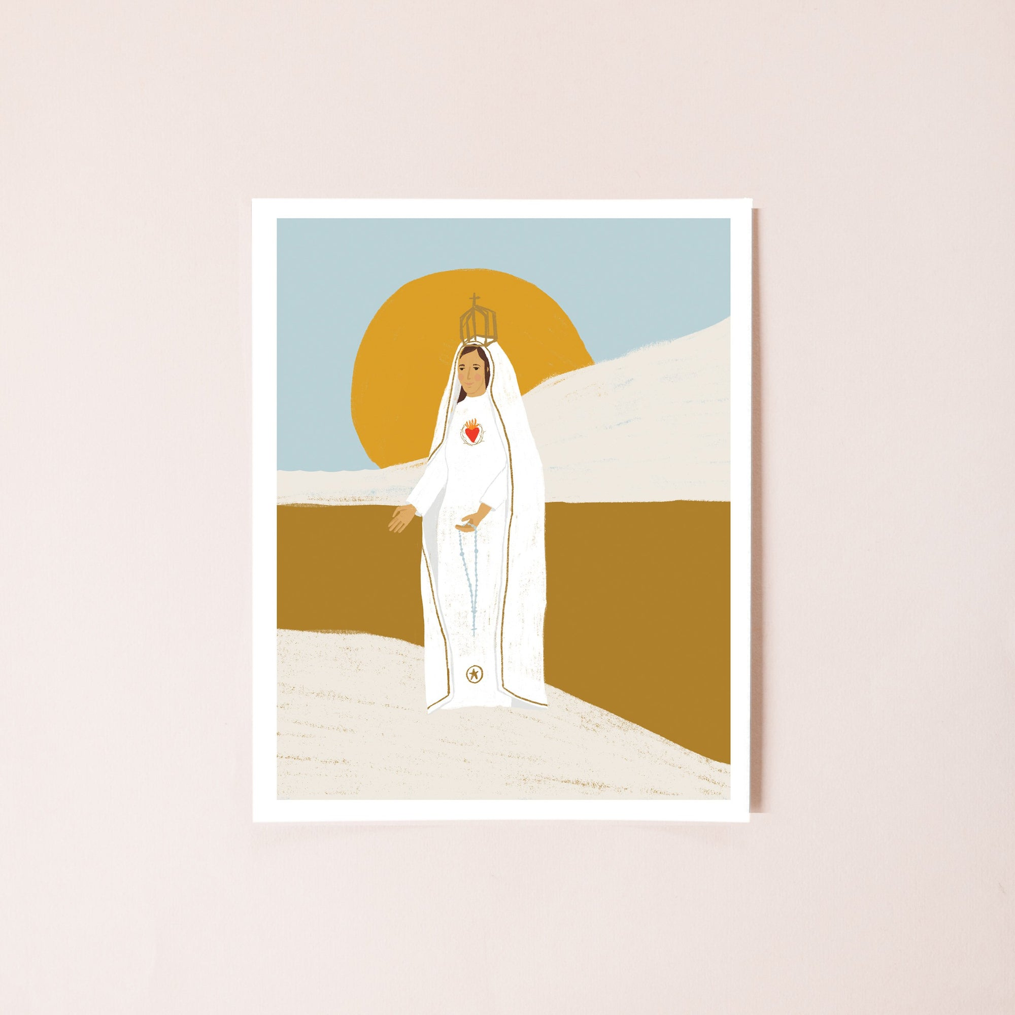 Our Lady of Fatima 8x10 Print
