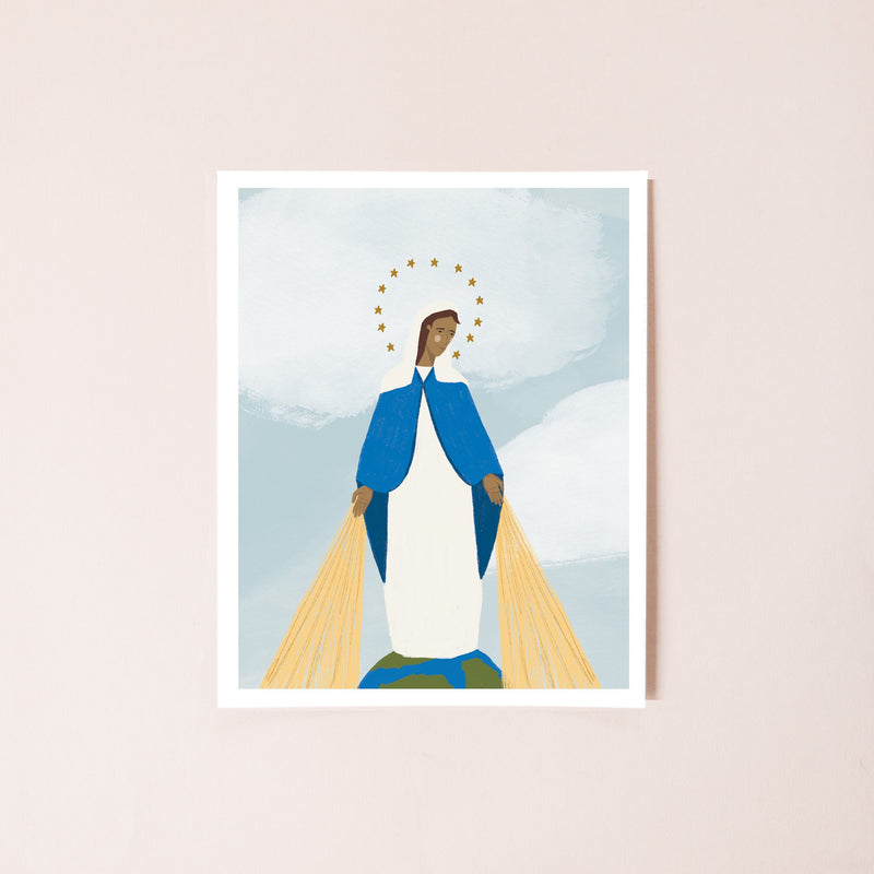 Our Lady of Grace 8x10 Print