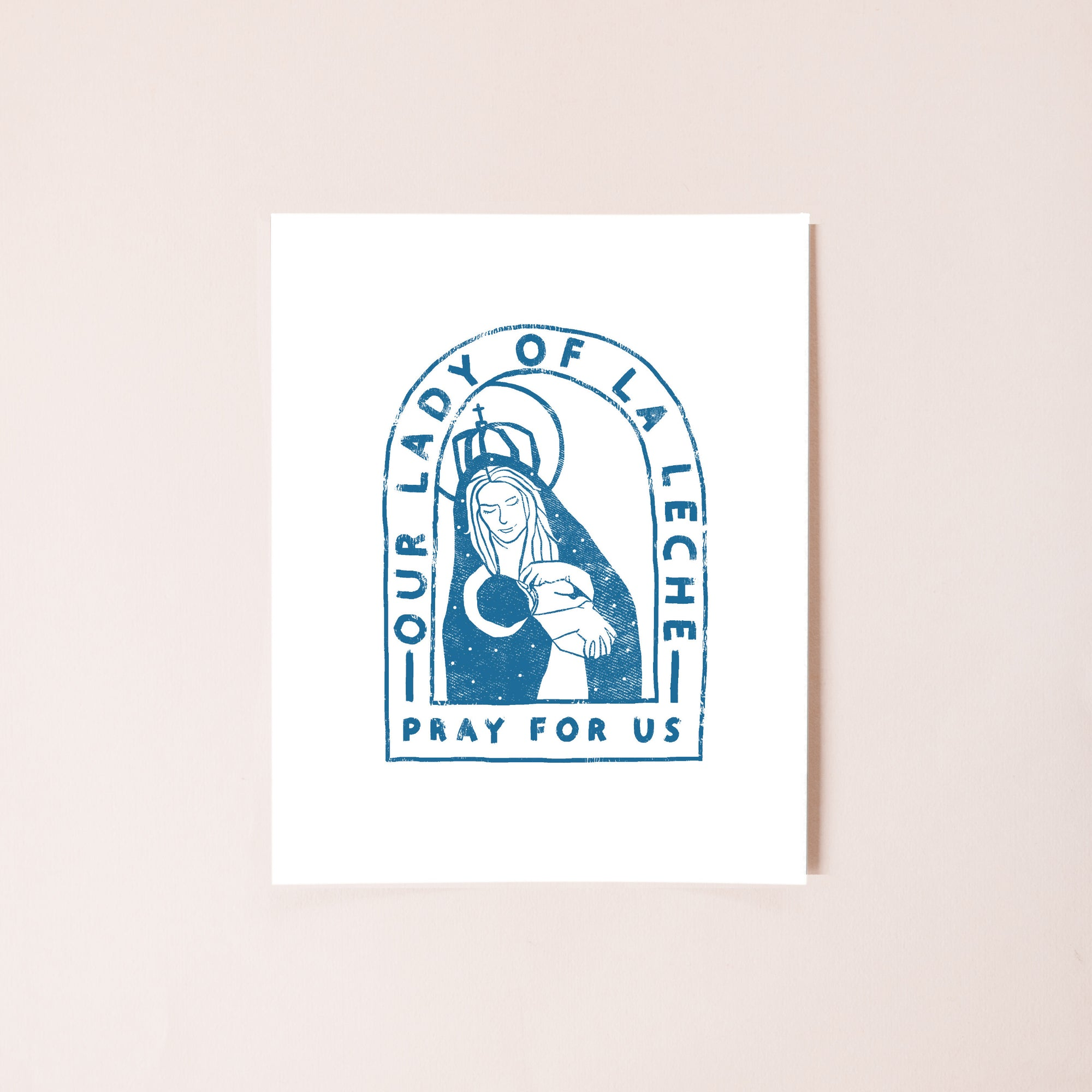 Our Lady of La Leche 8x10 Digital Download