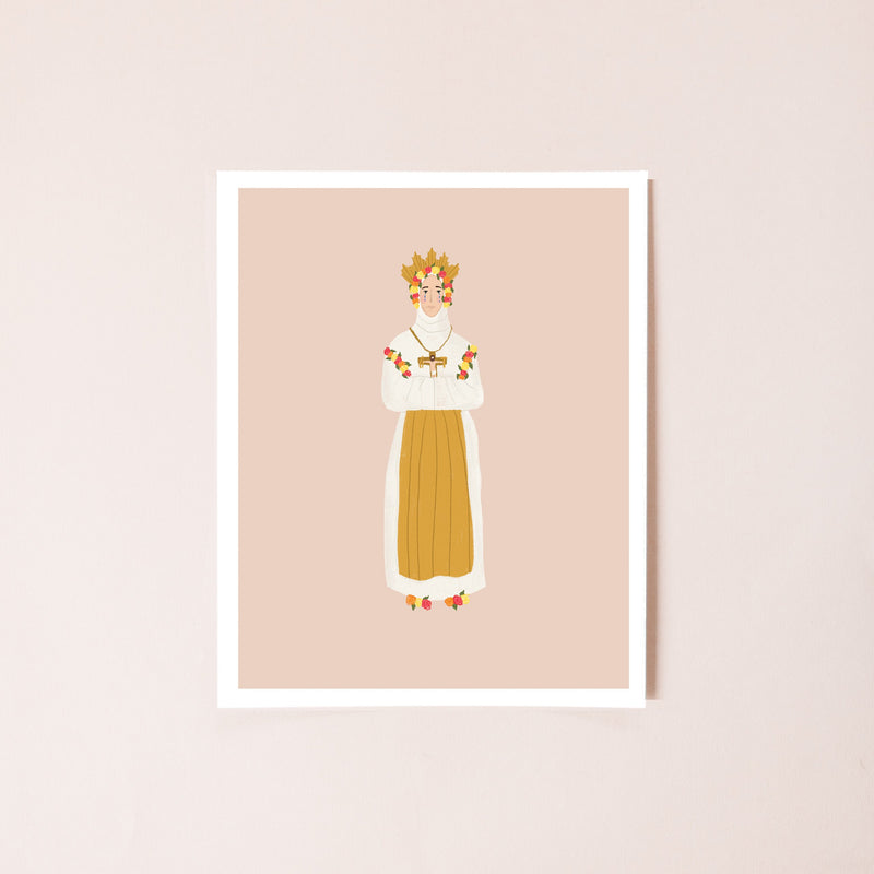Our Lady of La Salette 8x10 Print