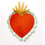 Sacred Heart and Immaculate Heart Large Paper Plate - 9""