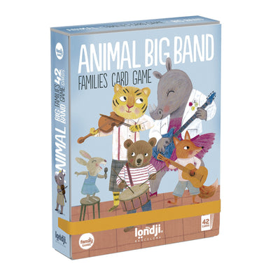 Game - Animals Big Band Family Card Game - From londji games collection - Londji