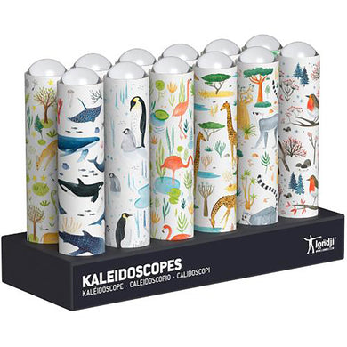 LONDJI Nature - Wildlife Kaleidoscope - MIX 12 pcs 12 styles